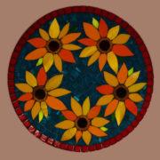 Van Gogh Sunflower Tribute Platter