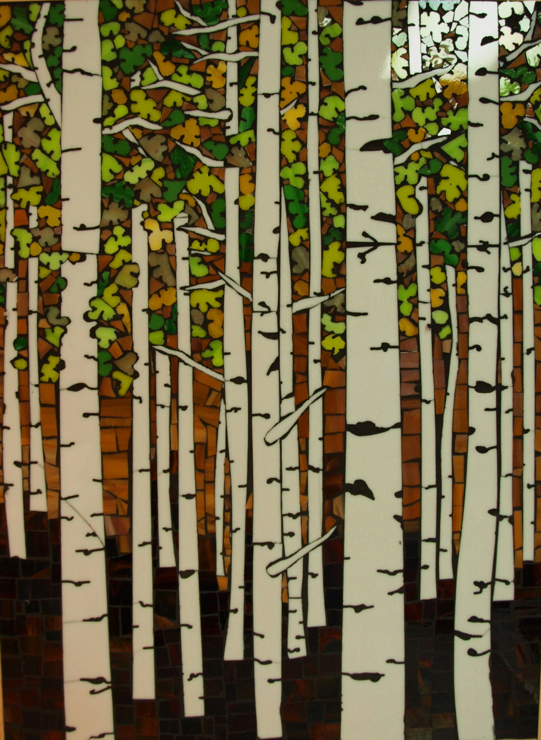 Aspens in Summer Wall Piece