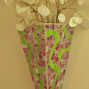 Pink Sconce 2