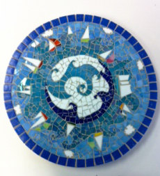 Sail the Sea Lazy Susan